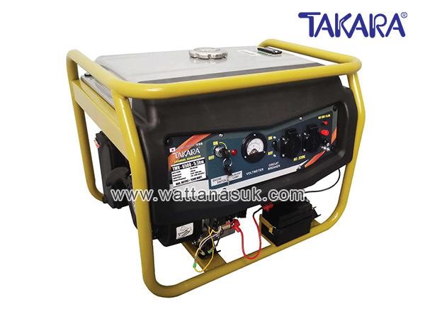 เครื่องปั่นไฟแก๊สโซฮอล์ รุ่น TMV-6000 (5.5 กิโลวัตต์) TAKARA